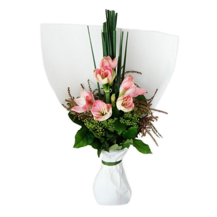 Amaryllis bouquet for Fleurs amaryllis bouquet