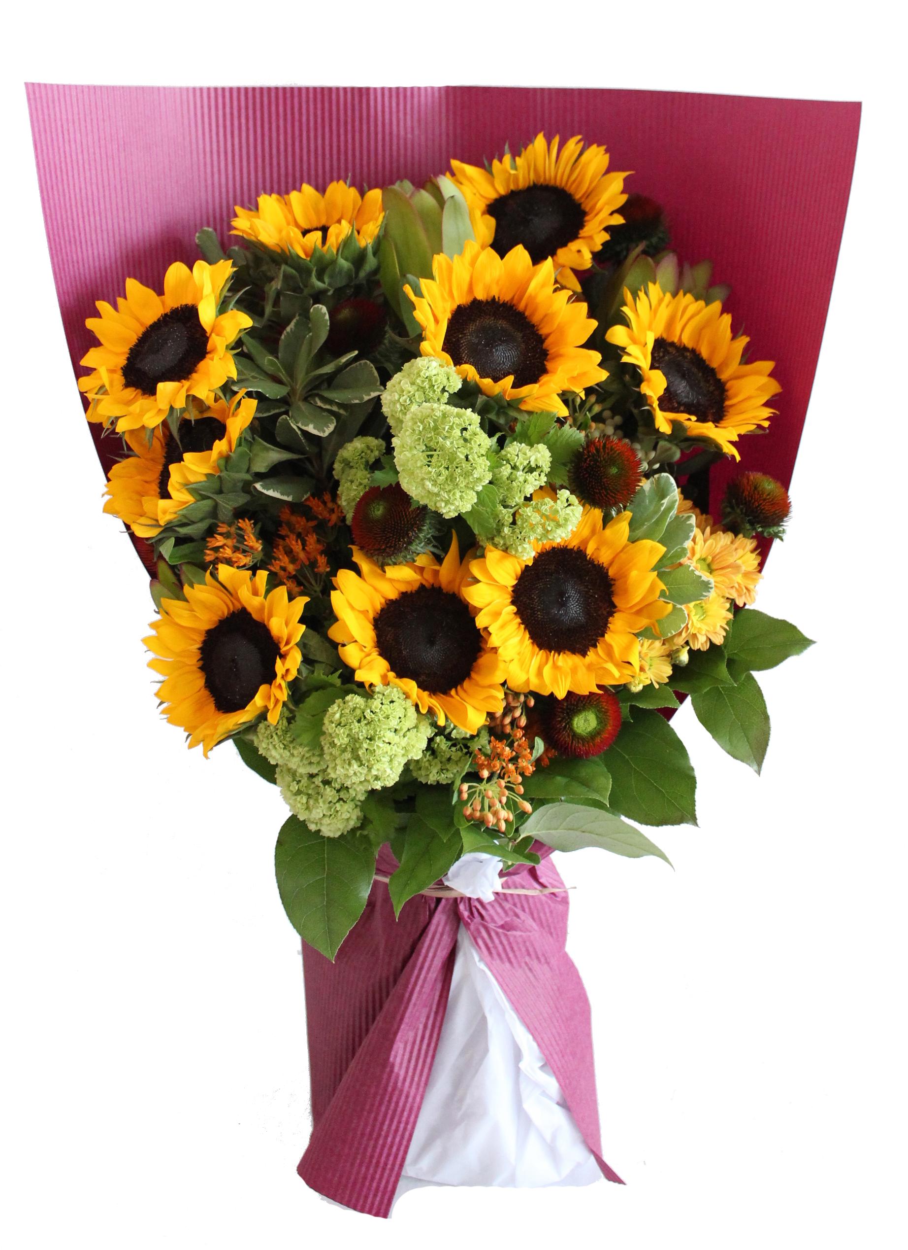 Fleur Deluxe Sunflower Bouquet